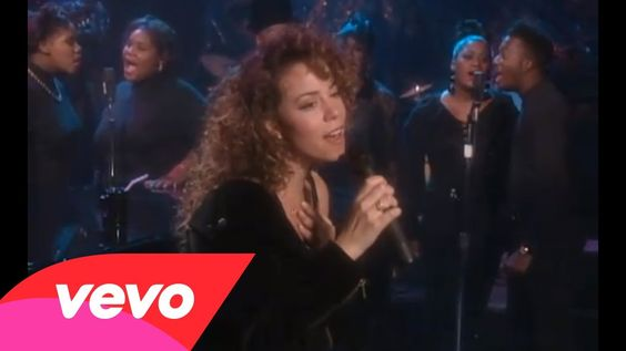 """I'll Be There"" by Mariah Carey - a number one hit single by two different groups: first by Jackson 5 in 1970 and then by Mariah and Trey Lorenz in '92; this was her sixth number one single and her biggest hit elsewhere at the time; ""yeah, yeah, I'll be therrrreeeeeeeee yeah yeah yeah yeah yeah yeahhhhhhhhhhhhh"" haha"