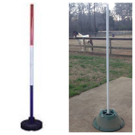 Conduit In Concrete Pole : Pole bending poles christmas tree stands pvc pipe a