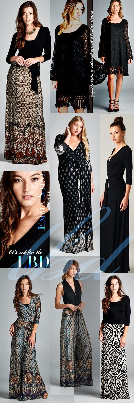 Timeless Fall fashion from Emma Stine Limited ==