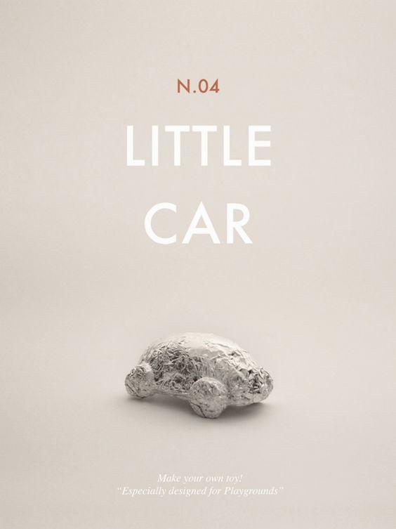 ENTLO.1ª, soluciones a problemas cotidianos. Construye tus propios juguetes. Little car.