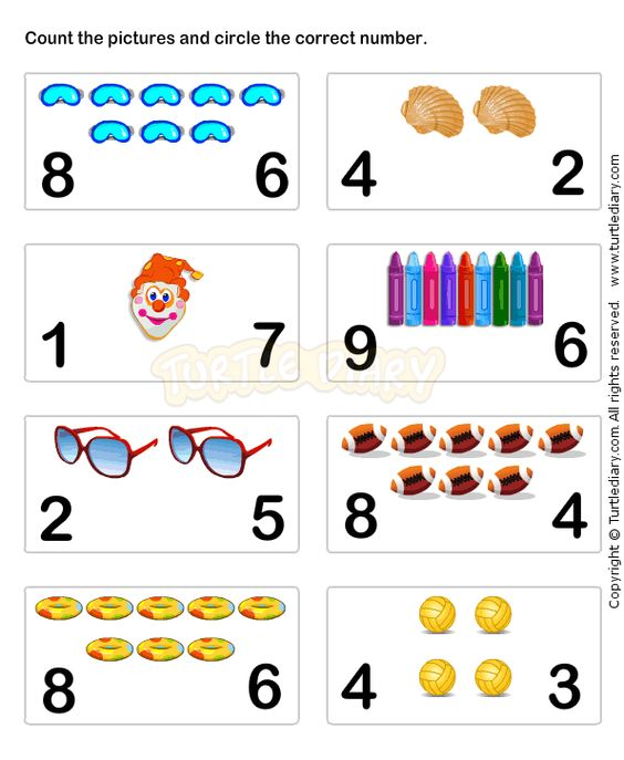 Learn Numbers Worksheet6 math Worksheets preschool Worksheets – Toddler Math Worksheets