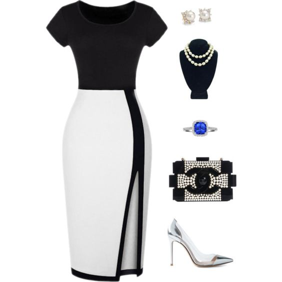 Coco Taught Me by tiffany-webster on Polyvore featuring polyvore, fashion, style, Gianvito Rossi, Chanel and Blue Nile