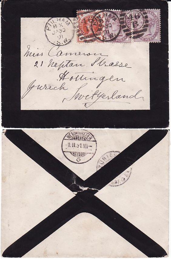 Mourning letter