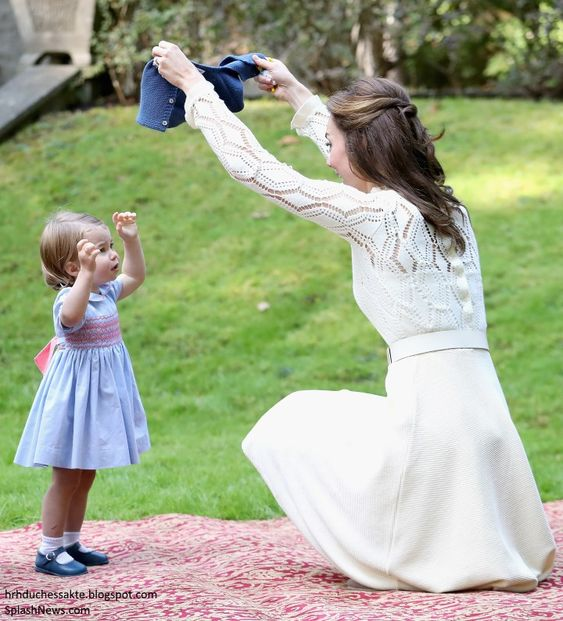 Duchess Kate: Bubbles & Balloons: George & Charlotte Steal the Show at Children's Party: