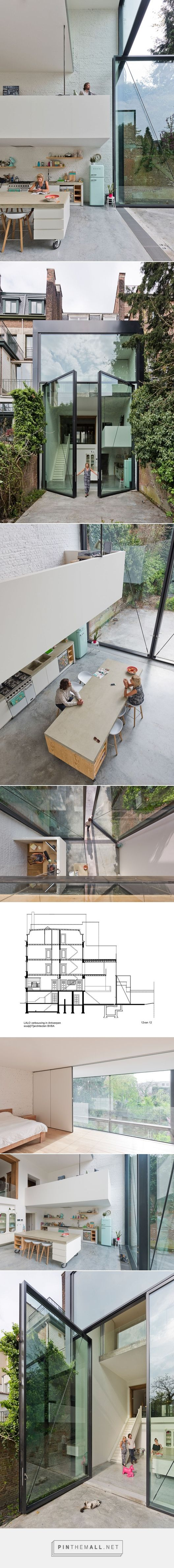 Town House in Antwerp / Sculp[IT] | ArchDaily - created on 2015-07-11 08:48:11