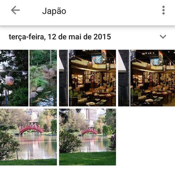 O Google Fotos achando que fomos ao Japão! Bem que gostaríamos! Sr. Google é o pavilhão do Japão no Epcot e o Jardim Japonês em Buenos Aires  #malasepanelas #google #googlephoto #japao #technology