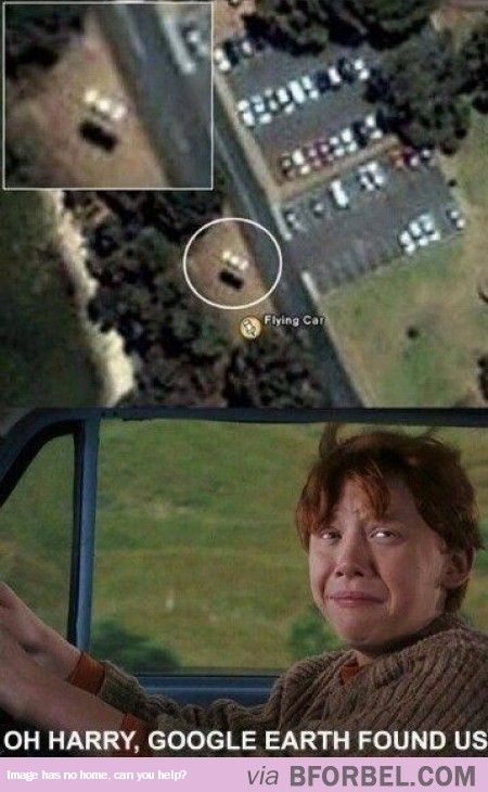Google Earth Caught Harry And Ron…