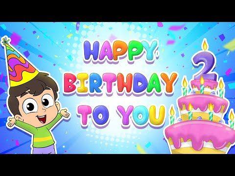 هابي بيرثدي Happy Birthday To You قناة مرح Marah Tv Youtube Happy Birthday To You Happy Birthday Birthday