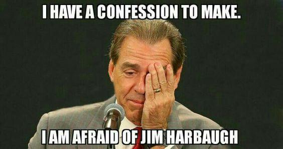 Tressel afraid of Jim Harbaugh