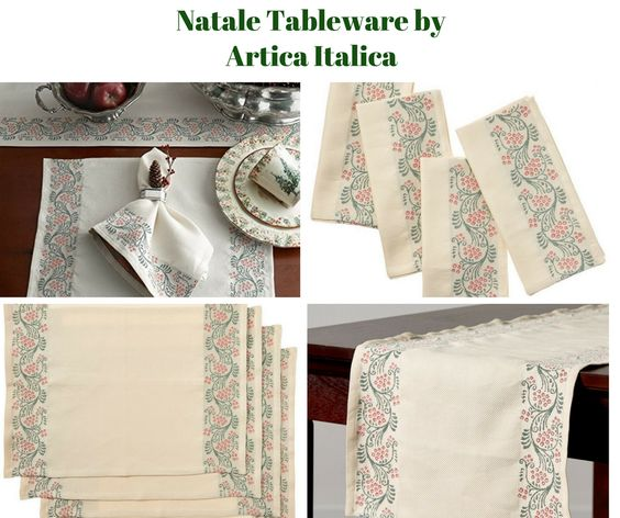 Natale Table Linens by Arte Italica