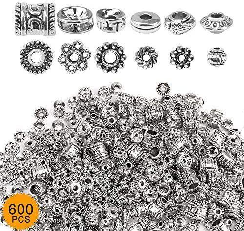 Silver 24 Count Set of 24 Zodiac Charm Set for Jewelry Making