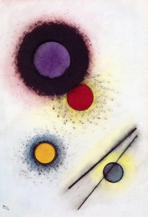 Untitled,1923,by Wassily Kandinsky