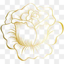 Rose Gold Edge Rose Clipart Golden Png Transparent Clipart Image And Psd File For Free Download Com Imagens Rosa Stencil Clip Art Molduras De Luxo