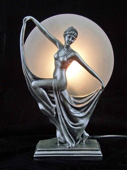 The correct choice of antique art deco lamps can provide a high quality, ...  artomic.org