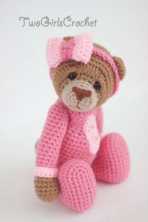 Orso Amigurumi Tutorial : Crochet Bear Amigurumi Toy (Britney) - Made to Order ...