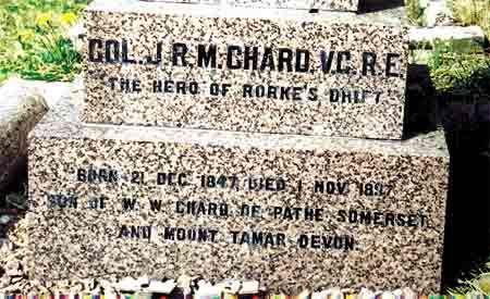 rorkesdriftvc.com - Lt. John Rouse Merriott Chard