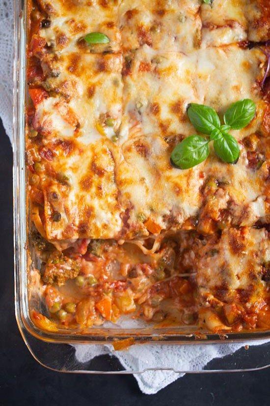 Vegetable Lasagna With White Sauce Or Bechamel Sauce Recipe Vegetable Lasagna Vegetable Lasagna Recipes Bechamel Sauce