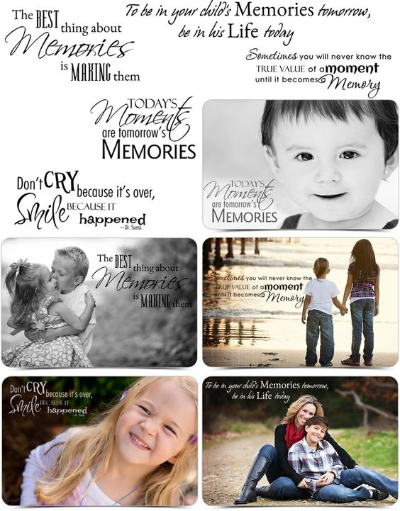 Word Art - Inspired Word Stamps for Your Photos - Scrapbooking Quotes - AsheDesign.com: