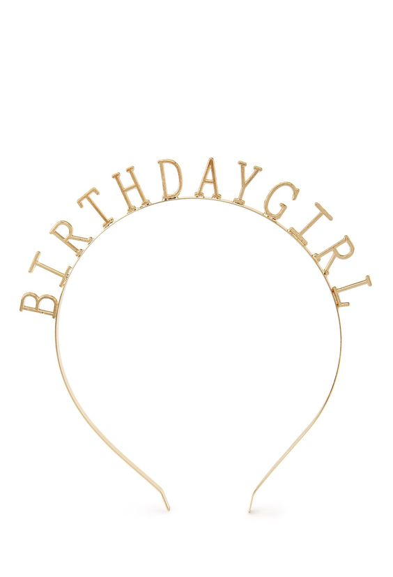 Birthday Girl Headband Forever 21 1000078189