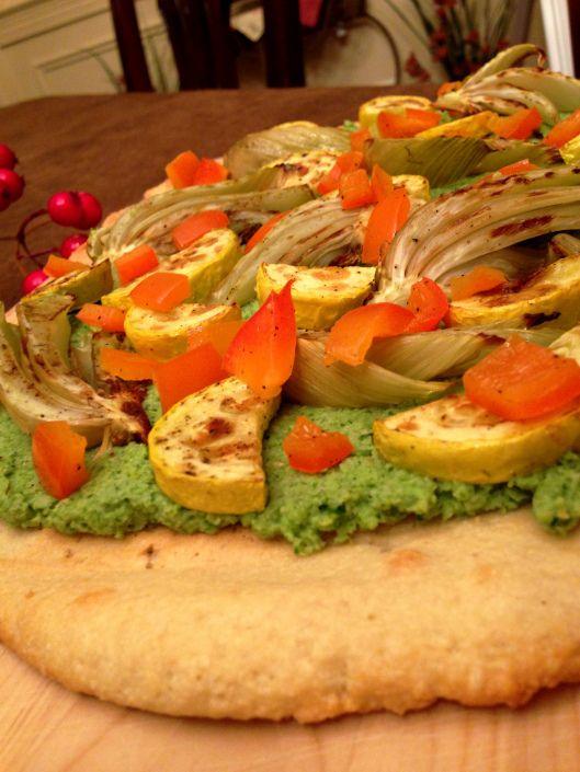 & Broccoli Pesto Flatbread! -- 1 bulb of fennel, cut into wedges ...