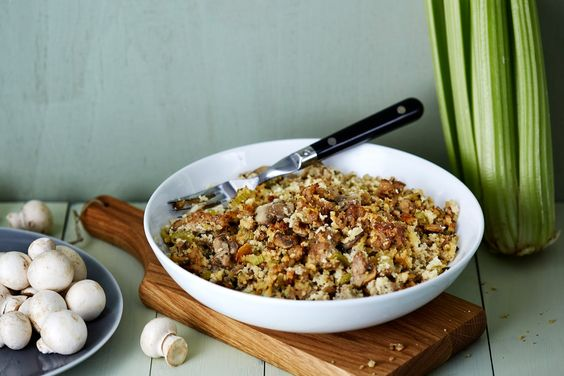 Don't wait for Thanksgiving. Enjoy this delicious low-carb stuffing the next time you roast a chicken. The celery, onion, and poultry seasoning hit all the right, familiar notes. Yes, you CAN enjoy stuffing without feeling stuffed!