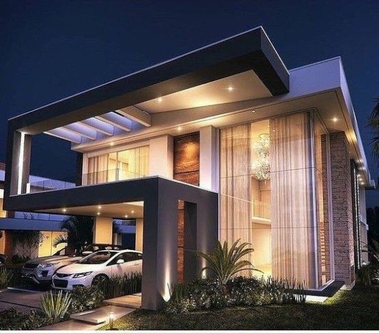 30 Desain Inspiratif Rumah Modern Minimalis Dengan Atap Cor Flat