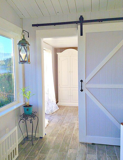 Sliding Barn Door Hardware Kit With 12 Feet Track 144 Sliding Barn Door Hardware Barn Door In House Interior Barn Doors