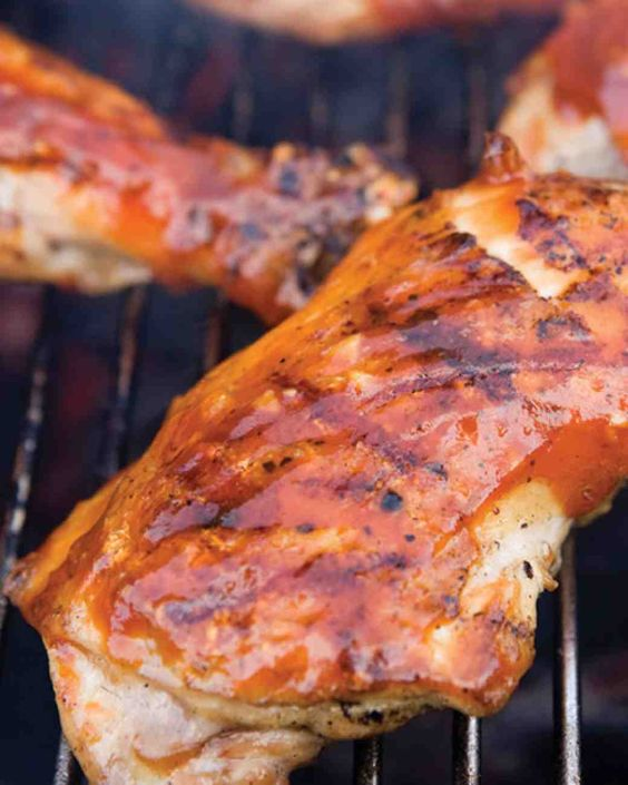 Backyard Barbecued Chicken with Homemade BBQ Sauce