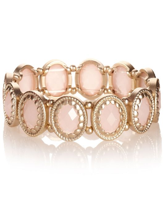 Scallop Edged Stretch Bracelet by Accessorize