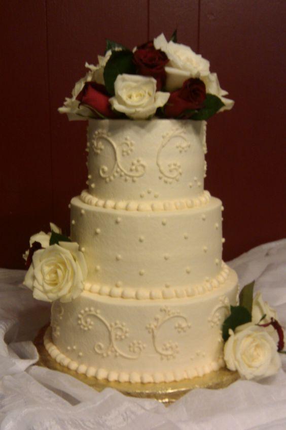 Simple Wedding Cake Cheap