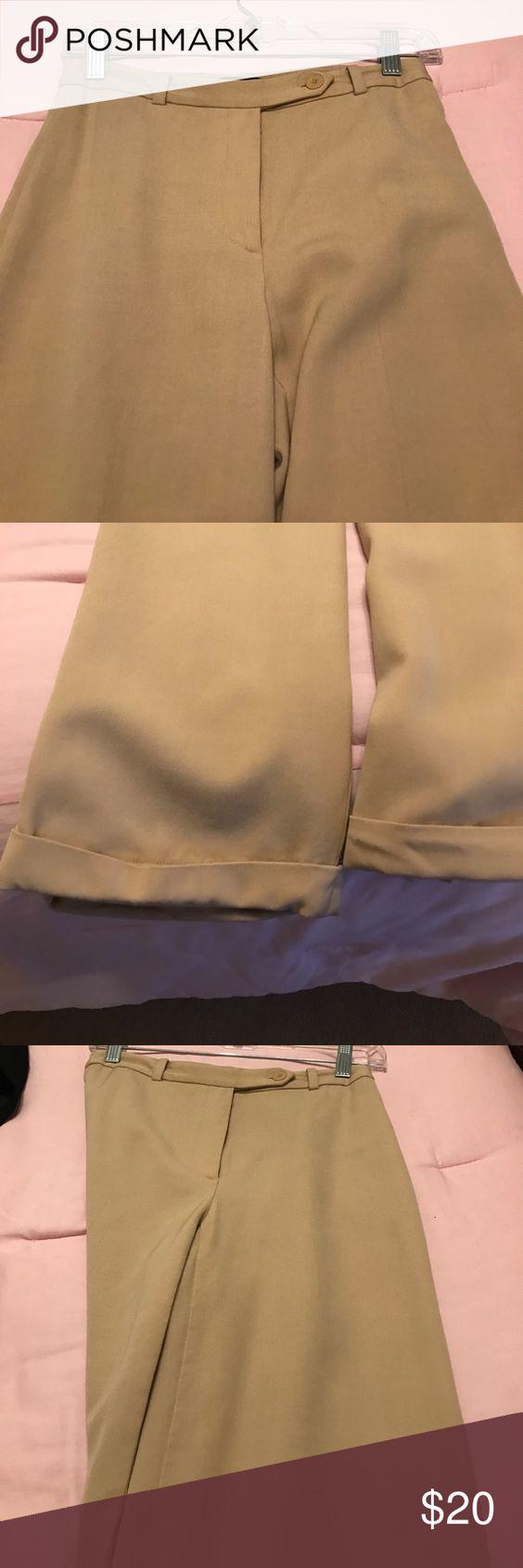 Fresh Light Brown Pants
