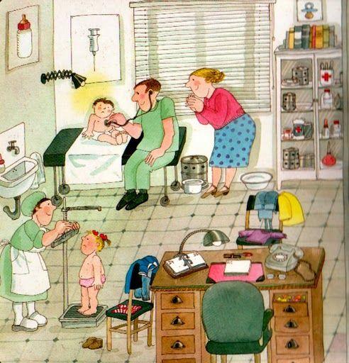 Expresión oral y vocabulario.  visita la médico