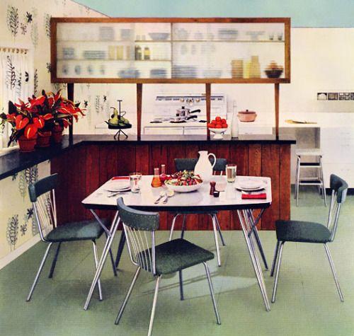 Daystrom dinette set, 1953