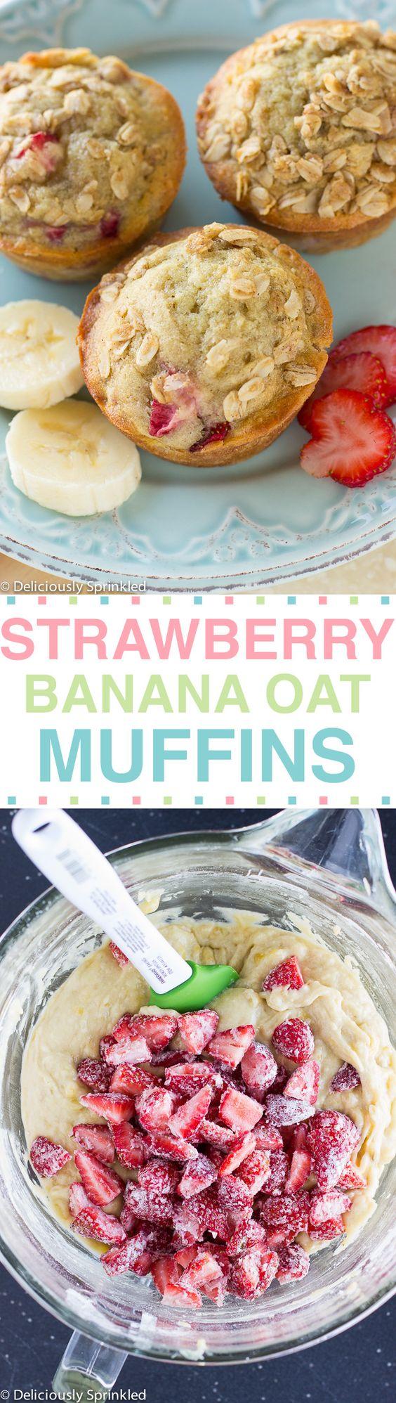 Banana oat muffins, Frozen and Oat muffins on Pinterest