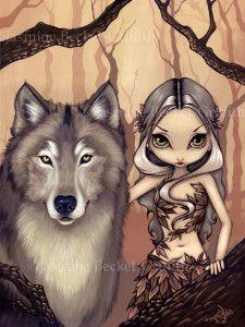 A Wolfish Friend