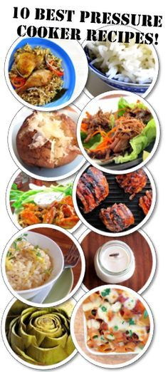 10 Best Pressure Cooker Recipes - the most clicked, most cooked and most rated pressure cooker recipes!