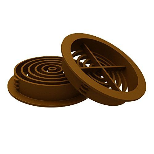 50 X 70mm Golden Oak Tan Plastic Round Soffit Air Vents Push In Roof Disc By Manthorpe Check This Awesome Product By Golden Oak Roofing Materials Roof