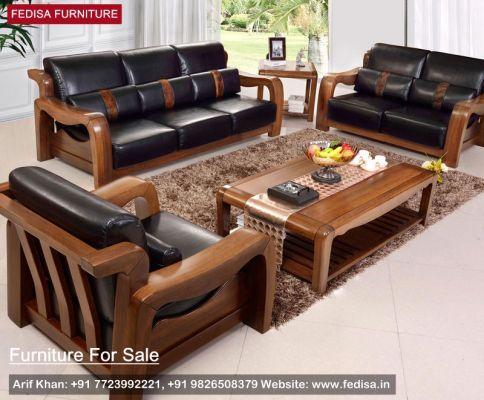 Wooden Sofa Set: wooden sofa fabric, Buy Sofa Set Online ...