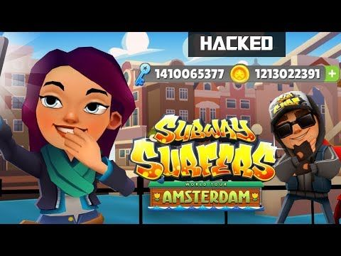 Free Subway Surfers Hack 2019 Hacking Free 999 999 Coins Subway Surfers With Cheats Subway Surfers Subway Surfers Game Game Cheats