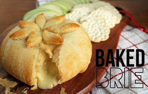 Baked Brie - Unusually Lovely