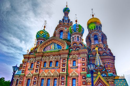 St. Petersburg: The-Church-of-the-Savior-on-Spilled-Blood