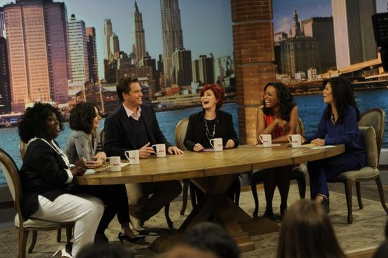 """The Talk Photos: Coffee Talk with """"NCIS"""" star Michael Weatherly"""
