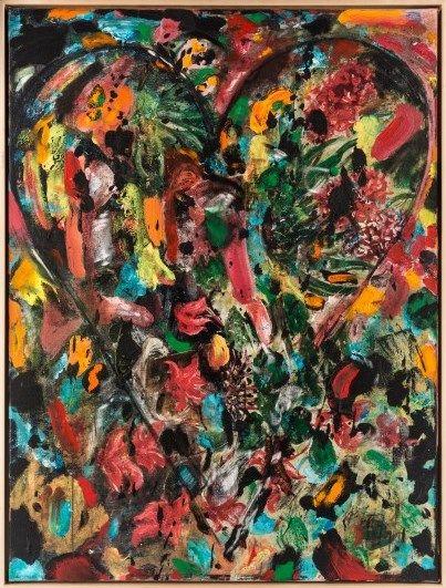 """Hawaiian Dream"" by Jim Dine (2013)"