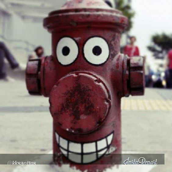 Paulista Avenue hydrant - São Paulo - São Paulo - Brazil