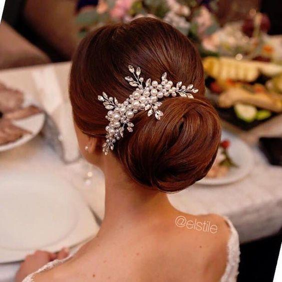 Wedding Hairstyle -via El Style: