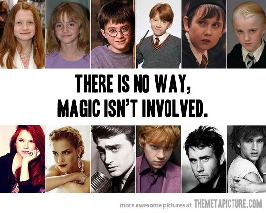 They were all such dorky kids.: Wizard Harry, Magic Isn T, Harry Potter Cast, Solemnly Swear, Mischief Managed, Harrypotter, So True, Isn T Involved, Potterhead