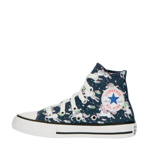 Unicons Chuck Taylor All Star Hi halfhoge sneakers blauw ...