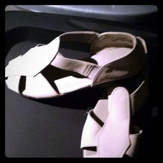 Beige summer sandals Beige sandals perfect for summer. Brand new never worn. Shoes Sandals
