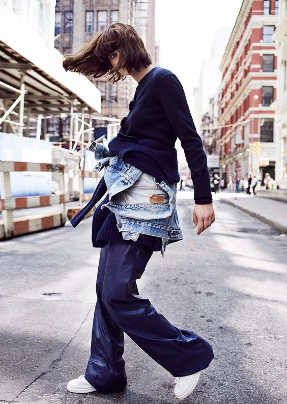 visual optimism; fashion editorials, shows, campaigns & more!: cr's denim guide: sibui nazarenko by billy kidd for cr fashion book!