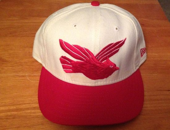 new era clippers throwback redbirds hat exclusive fitted baseball caps minor league vintage hats